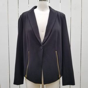 Chicos Black Label Blazer Jacket